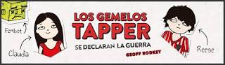 #HoyLeemos. Los gemelos Tapper se declaran la guerra.