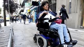 Yo protesto. Trabas para volar con sillas de ruedas.