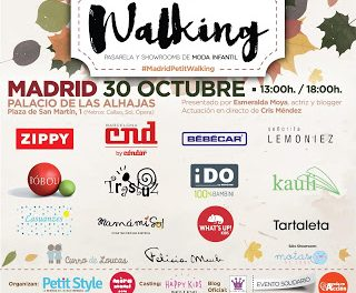 Madrid Petit Walking. Crónica de un desfile.