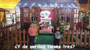 Melilla-Plaza de las culturas-Casa-Papa Noel-Santa Klaus-Navidad