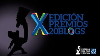 X Edición premios 20 Blogs. ¡Vamos allá!