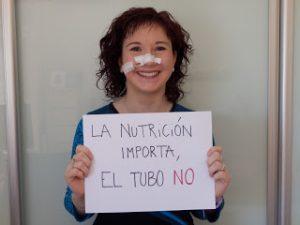 Familias diversas-sonda nasogástrica-blog-trimadre-especial-discapacidad