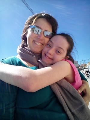 21 de Marzo. Día Mundial del Síndrome de Down: Arancha y Clara.