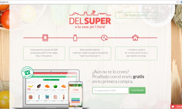 Emprendedores: Llega DelSúper y su Click & Go en una hora.