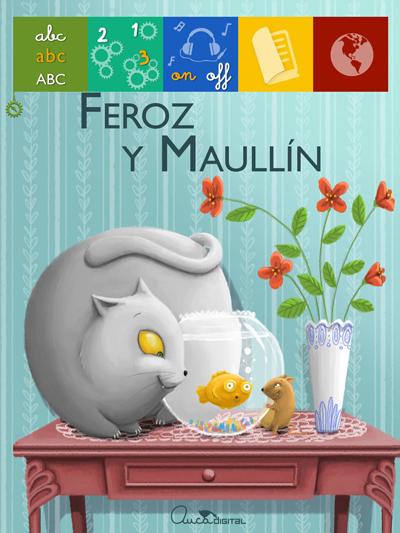 #HoyLeemos y aprendemos con Feroz y Maullín.