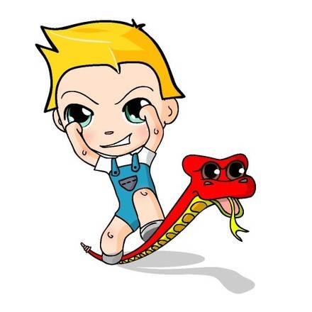 Historias de #Elde4: la serpiente cascabel tontorrona.