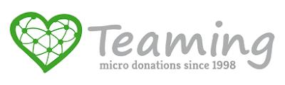 Teaming. Microdonaciones de 1€ al mes