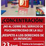 El único servicio de psicomotricidad y Atención Temprana de Canarias cierra sus puertas.
