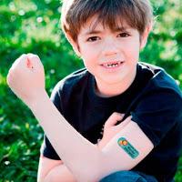 Tatoos-calcamonías-identificadores-extravío-pérdidas-niños-blog