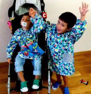 Mellizos-paralisis cerebral-discapacidad-sufrimiento-testimonio-familias diversas-blog