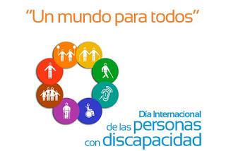 Pues no, no somos iguales. Porque todos somos distintos. Día internacional de la discapacidad.