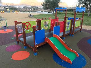 Benidorm con niños. Parques con zonas de juegos accesibles e inclusivas.