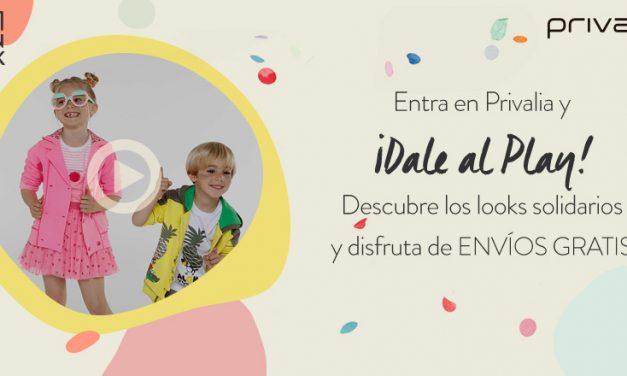 Kids Fashion Week de Privalia. La moda más solidaria.
