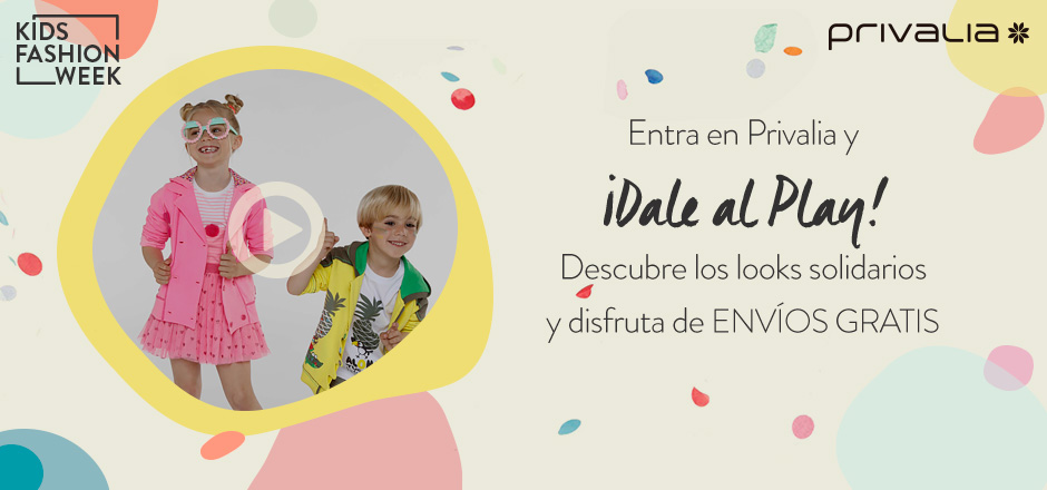 Kids Fashion Week de Privalia. La moda más solidaria.
