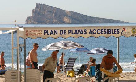 Benidorm para todos. Playas accesibles.