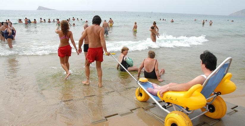 Benidorm playas accesibles