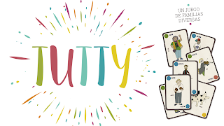 Os presento el Juego de cartas Tutty. Un juego de coeducación para Familias Diversas.