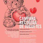 Campaña de donación solidaria de juguetes para niños con trastornos del neurodesarrollo.