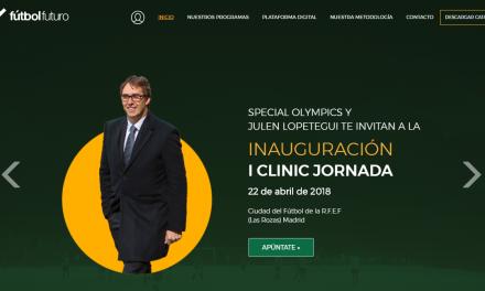 Evento solidario: Fútbol y Futuro con Special Olympics.