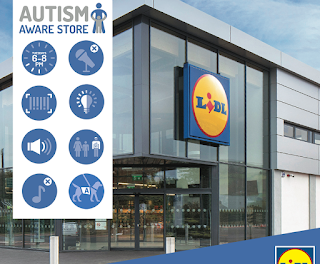 Lidl y su proyecto 'Autism Aware Quiet Evenings'. Facililtando la compra a personas con TEA.