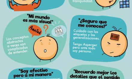 Síndrome de Asperger. La historia de Marta y Sergio y la reconciliación con el Autismo.