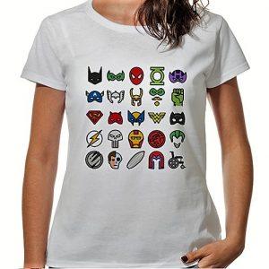 Camiseta-friki-logos