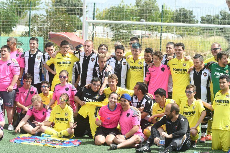Equipo de Fútbol inclusivo