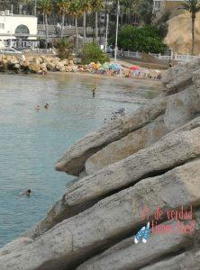 Punta canfali acantilado Plaza del Castillo