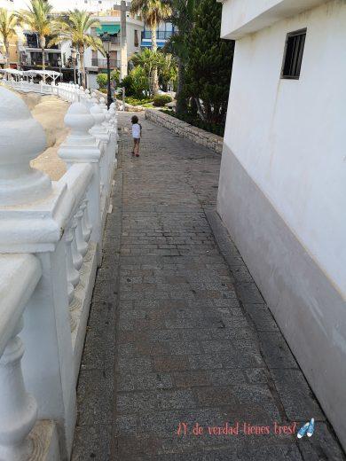 Camino Plaza Senyoria desde Plaza del castillo