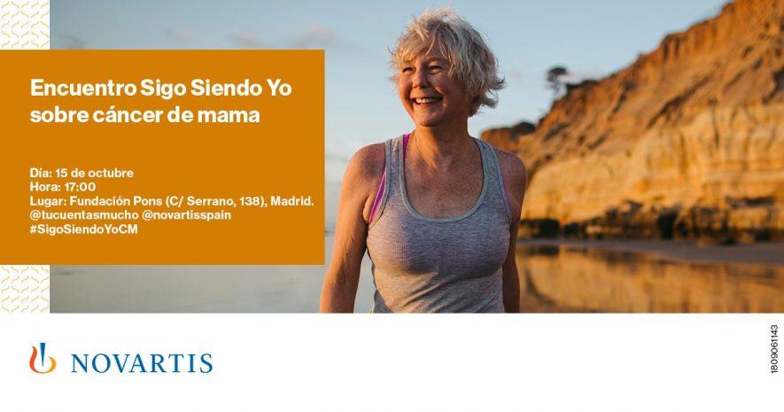 #SigoSiendoYoCM. Visibilizando y concienciando sobre el cáncer de mama.