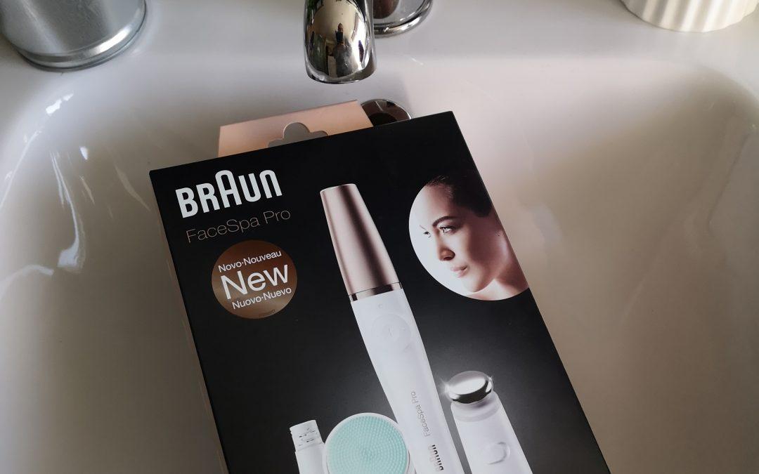Mamá también se quiere cuidar. Probando la Braun FaceSpa Pro 913.