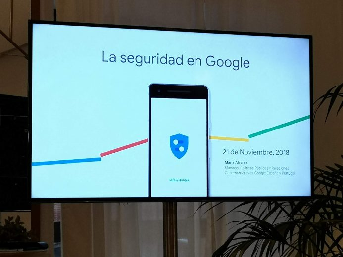 Seguridad Google safety