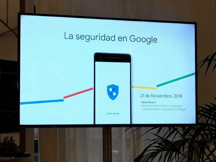 Seguridad Google safety