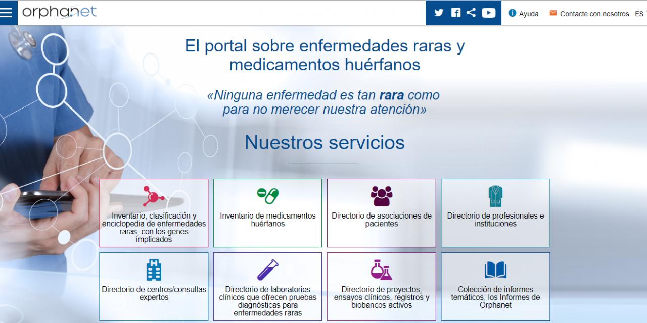 Orphanet: web de referencia en Enfermedades Raras.