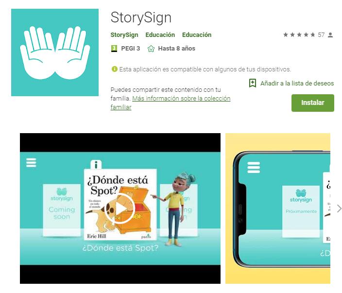 StorySign Huawei