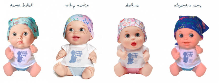 Baby pelones Juegaterapia