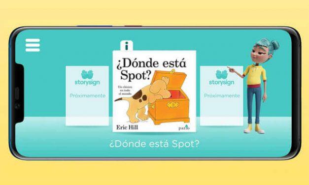 Storysign, la app gratuita de Huawei que ayuda a los niños sordos a aprender a leer.