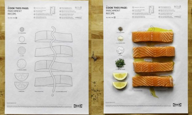 Herramientas visuales para cocinar y Autismo.»Cook this page» de IKEA como idea.