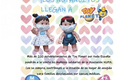 Nupancitos, muñecos de Toy Planet para concienciar sobre EERR y donación de órganos