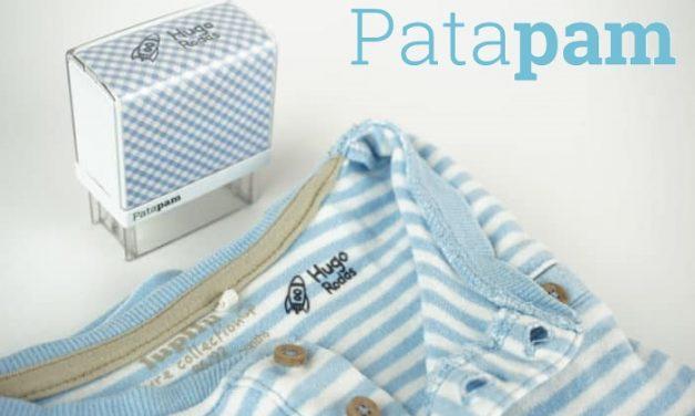 Sellos Patapam o como marcar ropa puede ser divertido.