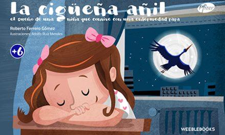 EERR y #Librosdiversos: La cigüeña añil.