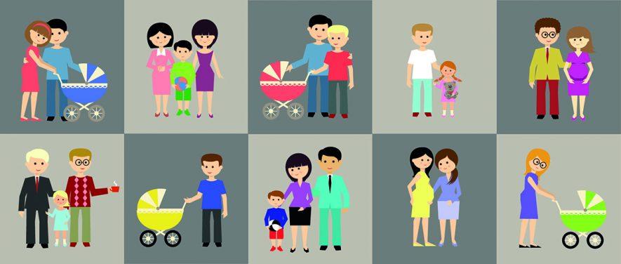 Ampliación de permiso por maternidad en familias monoparentales que tengan un hijo con discapacidad o un parto múltiple