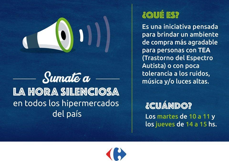 """""""La hora silenciosa"""" de Carrefour para personas con TEA"""