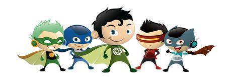 Super héroes Phelan McDermid