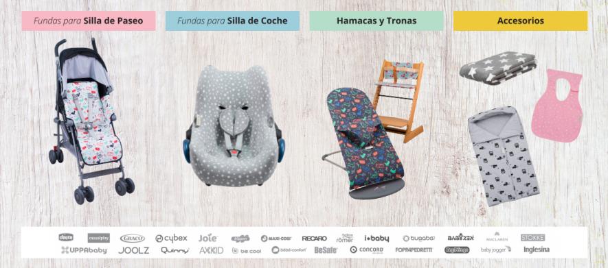 Jana bebé catálogo de productos de fundas para sillas para carros y