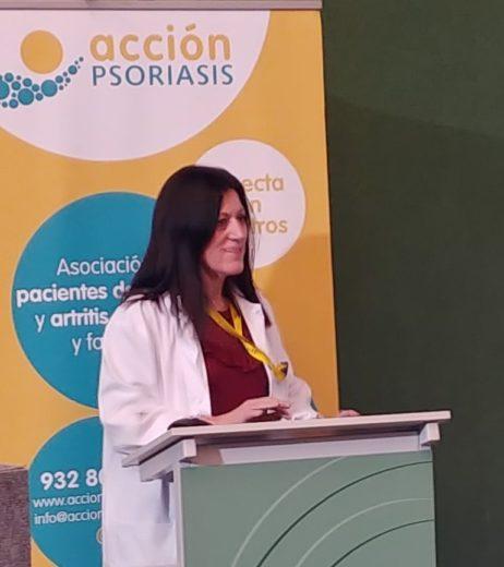 Nuria Zapater Acción Psoriasis. Psoriasis: importancia del autocuidado y la gestión del estrés mediante el Mindfullness
