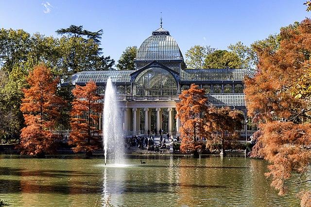 Palacio cristal retiro Madrid
