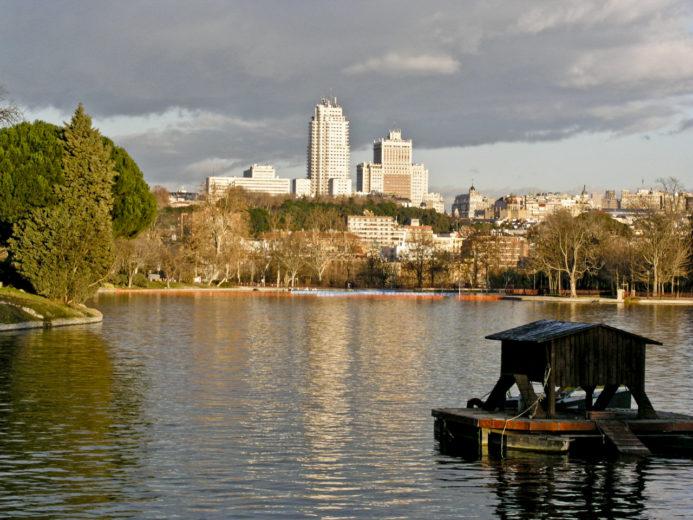 Imagen Lago de la Casa de Campo de Madrid