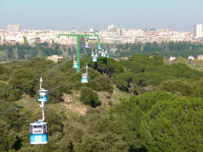 Teleférico Casa de Campo Madrid