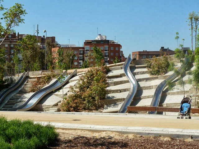 Toboganes Madrid rio
